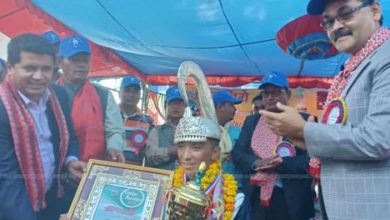Photo of Anish Thapa clinched the 9th edition of Liglig race crown