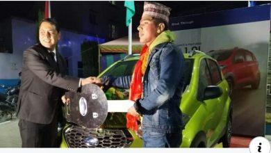 Photo of कमेडी च्याम्पियन विजेता पन्त लाई गाडी