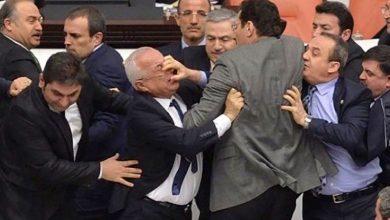 Photo of टर्कीको संसद बैठकमा हंगामा: सांसदहरुबीचमै यसरि कुटाकुट !