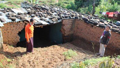 Photo of पहिरोले दुई दर्जन वढी घरहरुमा क्षती