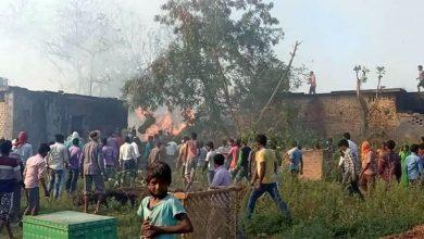 Photo of कपिलवस्तुको विजयनगरमा आगलागी, २५ घर–गोठ जले