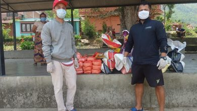 Photo of ने.वि.स.को ५१ औं स्थापना दिवसमा लकडाउन प्रभावितलाई खाद्यन्न सामाग्री वितरण ।।