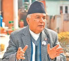 Photo of 'ग्राण्ड कार्डन अफ दि अर्डर अफ दि राईजिङ सन' अवार्ड पाउँदै नेपाली कांग्रेसका वरिष्ठ नेता पौडेल