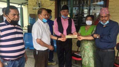 Photo of ७ वटा सहकारी संस्थाद्वारा गाउँपालिकाको राहत कोषलाई २ लाख ८८ हजार सहयोग ।।