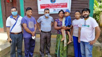 Photo of कोभिडबाट मृत्यु भएकाको परिवारलाई गोरखा समाज हङकङको सहयोग