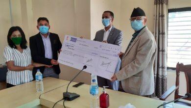 Photo of धुर्मुस सुन्तली फाउन्डेसनलाई बागमती प्रदेश सरकारले तीन करोड रुपैयाँ रकम हस्तान्तरण