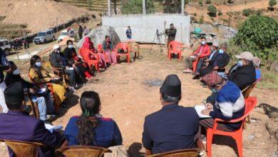 Photo of आँबुखैरेनी गाउँपालिकाको कार्यपालिका बैठक छिम्कालेकको लाब्दीमा सम्पन्न
