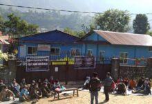 Photo of पुर्नबास र पुनस्थापनाको माग गर्दै बुढीगण्डकी डुवान क्षेत्रका बासिन्दा धर्नामा