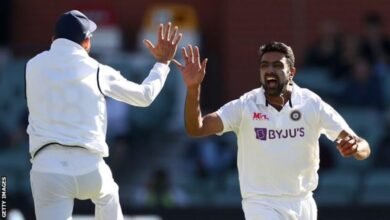 Photo of Australia v India: Ravichandran Ashwin stars as tourists open up lead