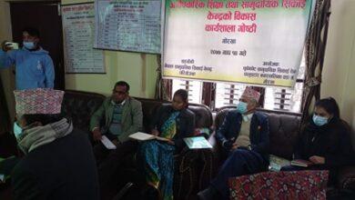 Photo of धुवाँकोटमा सिकाई केन्द्र बिकास कार्यशाला गोष्ठी सम्पन्न