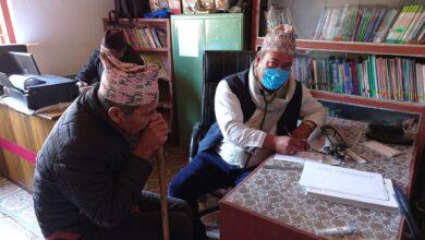Photo of पालुङ्टारमा गाउँघर आयुर्वेद स्वास्थ्य क्लिनिक सञ्चालन