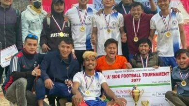 Photo of सेभेन ए साइड फुटवल प्रतियोगितामा चाइनिज धारा फेमेली क्लब विजयी