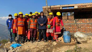 Photo of सुरक्षित घर निर्माणका लागि ७ दिने महिला डकर्मी तालिम सम्पन्न