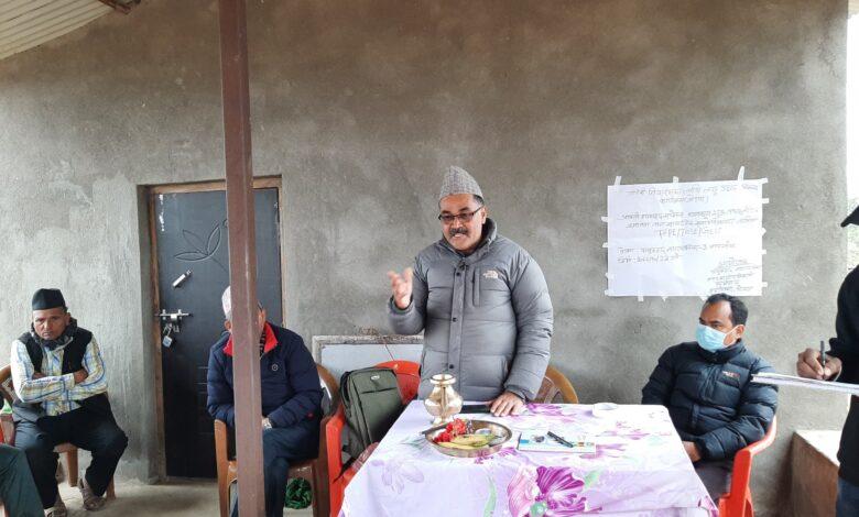 """Photo of पालुङटारमा """"साझा सुविधा केन्द्र"""" भवनको निर्माण गरिने"""