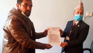 Photo of सरकार बलात्कारी र हत्यारा जोगाउन लागि परेको भन्दै गोरखाबाट नेविसंघको ज्ञापनपत्र