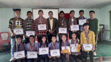 Photo of अादिकविमा खेलकुद पुरस्कार बितरण