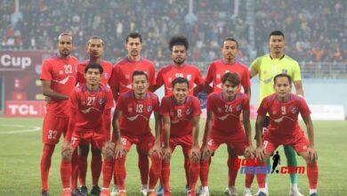 Photo of नेसन्स कप फुटबलको उपाधि नेपालकाे पाेल्टामा