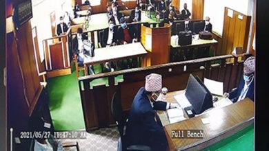 Photo of संसद विघटनविरुद्ध सर्वोच्च अदालतमा परेका रिटहरुको सुनुवाइ सुरु