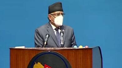 Photo of 'प्रचण्ड'ले प्रधानमन्त्री केपी शर्मा ओलीलाइ बहसका लागि चुनौती