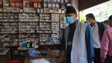 Photo of गोरखामा औषधी पसलको अनुगमन : सर्जिकल मास्कको खुद्रा बिक्रिमा चर्को नाफा