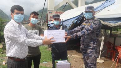 Photo of समिट लघुवित्तद्वारा आधारभुत स्वास्थ्य सामाग्री वितरण