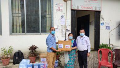 Photo of कोशिशद्धारा तनहू जिल्लाका ६ वटा स्थानीय तहमा स्वास्थ्य सामग्री सहयोग