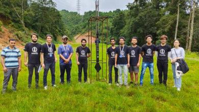 Photo of नेपाली विद्यार्थीले बनाएको रकेटको परीक्षण सफल